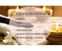 TERAPIAS HOLÍSTICAS / TÉCNICAS ORIENTALES.