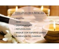 TERAPIAS HOLÍSTICAS / TÉCNICAS ORIENTALES. EN PALERMO