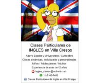 Profesora Particular de Ingles en Villa Crespo