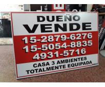 Cartel dueño vende en Las Lomitas