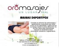MASAJES DEPORTIVOS MANUALES