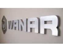 Números para casas de acero 3D en Av. Hipólito Yrigoyen