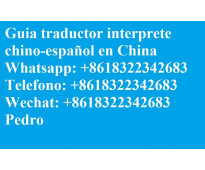 Interprete Traductor Guia chino español en Beijing China
