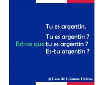 Clases francés Nacional Buenos Aires profe nativa c/ exp