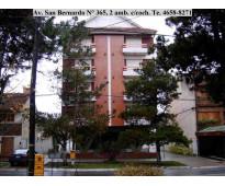 SAN BERNARDO : ALQUILO 2 AMBIENTES , 4 PLAZAS CON COCHERA EN Av. SAN BERNARDO AL...