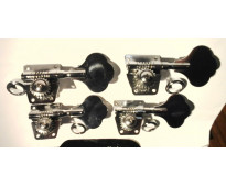Clavijas tipo Fender para Jazz Bass o Presicion  4 en linea .