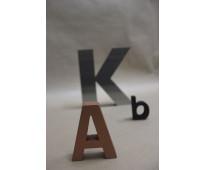 Letras de polifan huecas