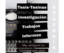 Tesis, Tesinas, Y Monografías - Servicio De Tutorías