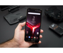 ASUS ROG Phone 2 ZS660KL,Octa Core 2.96 GHz, 512GB + 12GB RAM, LTE, Negro brilla...