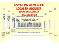 AMPLIO LOCAL EN EL CENTRO COMERCIAL DE LANUS
