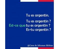 Clases francés online Nacional Buenos Aires profe nativa c/ exp