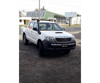 Vendo toyota Hilux 2.5 doble cabina DX PACK 4x4