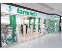 Cartelería para farmacias