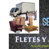 Servicio de fletes y mudanzas