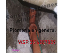 Plomeria Gas Herreria Construccion en general