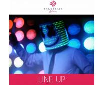 Show LINE UP - By Valkirias Shows