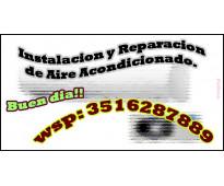 Instalacion y Reparacion de Aire Acondicionado. Servicios para el hogar