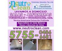 Lavado orgánico de colchones y muebles a domicilio con tratamiento anti ácaros e...