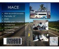Transporte de personal Salamanca, León, Irapuato, Silao, San pancho