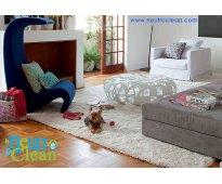 Lavado orgánico de alfombras y muebles a domicilio garantía total a su salud.