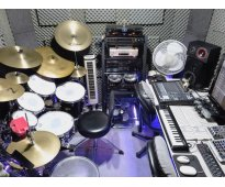 Multitrack Digital Drum Studio Clases de bateria