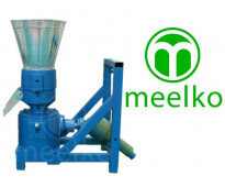 Máquina para pellets con madera