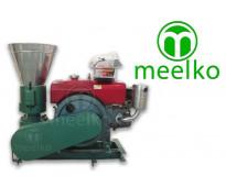 Peletizadora Diesel MKFD200A pellets de brizna