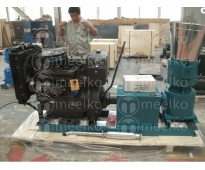 680-820 kg/h - MKFD360A Peletizadora 360 mm 55 hp DIESEL para concentrados balan...
