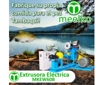 160-180kg/h 15kW - MKEW060B Extrusora para pellets flotantes para peces