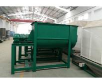 150 kg por hora 2.2kw Mezcladora horizontal