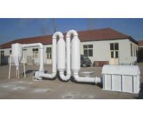 Secadora flash drye contenido de humedad 25 250kg hora.