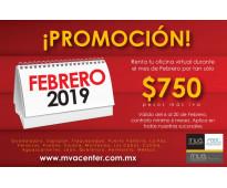 OFICINA VIRTUAL CON LOS MEJORES SERVICIOS A PRECIO ESPECIAL, SOLO HOY!