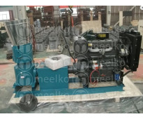 Peletizadora 400 mm Diesel Mixta 55HP - MKFD400A