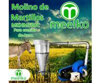 (Asno) Molino triturador de biomasa a martillo eléctrico hasta 1500 kg hora - MK...