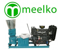 Alfalfas y pasturas 600-820kg/h Peletizadora 360mm 55 hp Diesel 600-820kg/h - MK...