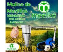 (Hámster) Molino triturador de biomasa a martillo eléctrico hasta 1500 kg hora -...