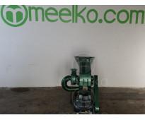 (Arroz Silvestre) a martillo Molino triturador de biomasa eléctrico 360 kg - MKH...