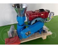 120mm 8hp Diesel para alfalfas y pasturas 80-100kg/h Peletizadora - MKFD120A