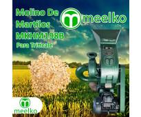 (Triticale) a martillo Molino triturador de biomasa eléctrico 360 kg - MKH198B