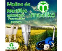 (Cabra) Molino de biomasa a martillo eléctrico hasta 1500 kg hora - MKH500C-C