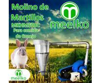 (Conejo) Molino de biomasa a martillo eléctrico hasta 1500 kg hora - MKH500C-C