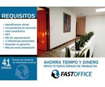 Espacios Ejecutivos de lujo Fast Office Querétaro!!