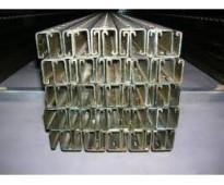 Riel unicanal  galvanizado para soportería 4x2 y 4x4
