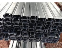 Soporte unicanal galvanizado 4x2 y 4x4 liso y perforado