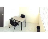 ¿Buscas una oficina amueblada y con servicios incluidos?