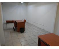 Oficina disponible con servicios