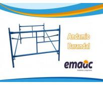 ANDAMIO BARANDAL