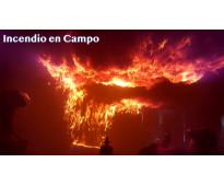 Curso conocimiento y prevención del fuego en campo de prácticas