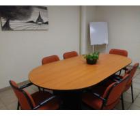 Espacios de trabajo amueblados, virtuales y coworking.
