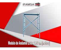 venta y renta de módulos de andamios